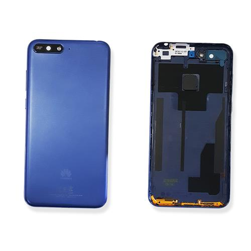 cover huawei y6 2018 blu